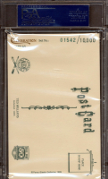 Ted Williams Signed 1989 Perez-Steele Celebration Postcards #43 #1,542/10,000 (PSA Encapsulated) at PristineAuction.com