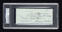 Norman Rockwell Signed Hand-Written 1959 Personal Bank Check (PSA Encapsulated) at PristineAuction.com