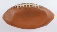 1976 Raiders Football Signed by (45) With Tom Flores, Art Shell, Ken Stabler, Fred Biletnikoff (PSA LOA) (See Description) at PristineAuction.com