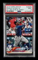 Ronald Acuna Jr. 2018 Topps Update #US250 RC (PSA 9) at PristineAuction.com
