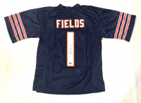 Justin Fields Signed Jersey (Beckett Hologram) at PristineAuction.com