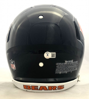 Justin Fields Signed Bears Full-Size Authentic On-Field Speed Helmet (Beckett Hologram) at PristineAuction.com
