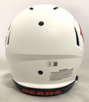 Justin Fields Signed Bears Full-Size Authentic On-Field Lunar Eclipse Alternate Speed Helmet (Beckett Hologram) at PristineAuction.com