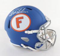 "Tim Tebow Signed Florida Gators Full-Size Speed Helmet Inscribed ""07 Heisman"" (Tebow Hologram) (See Description) at PristineAuction.com"