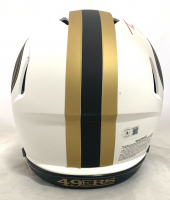 Trey Lance Signed 49ers Full-Size Authentic On-Field Lunar Eclipse Alternate Speed Helmet (Beckett Hologram) at PristineAuction.com