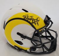 Matthew Stafford Signed Rams Full-Size Authentic On-Field Lunar Eclipse Alternate Speed Helmet (Fanatics Hologram) at PristineAuction.com