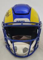 Matthew Stafford Signed Rams Full-Size Authentic On-Field SpeedFlex Helmet (Fanatics Hologram) at PristineAuction.com