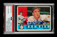 """Brooks Robinson Signed 1960 Topps #28 Inscribed """"HOF 1983"""" (PSA Encapsulated) at PristineAuction.com"""