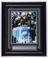 Jason Kelce Signed Eagles 13.5x16.5 Custom Framed Photo Display (JSA COA) at PristineAuction.com