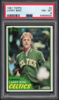 Larry Bird 1981-82 Topps #4 (PSA 8) at PristineAuction.com
