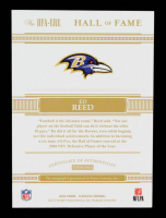 Ed Reed 2020 Panini Flawless Hall of Fame Autographs Silver #17 #2/10 at PristineAuction.com