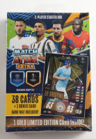 2020-21 Topps UEFA Champions League Match Attax Box with (39) Cards at PristineAuction.com