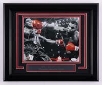 Mike Tyson Signed 13.5x16.5 Custom Framed Photo (JSA COA & Fiterman Sports Hologram) at PristineAuction.com