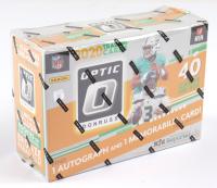 2020 Donruss Optic Football Mega Box with (10) Packs (See Description) at PristineAuction.com