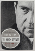 """John W. Dean Signed """"The Nixon Defense: What He Knew and When He Knew It"""" Hardcover Book Inscribed """"To Nixon's Watergate"""" (Beckett COA) (See Description) at PristineAuction.com"""
