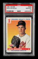 Mike Mussina 1991 Score #383 RC (PSA 10) at PristineAuction.com