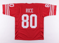 Jerry Rice Signed Jersey (Beckett COA) at PristineAuction.com