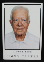 """Jimmy Carter Signed """"A Full Life"""" Hardcover Book (Beckett COA) (See Description) at PristineAuction.com"""