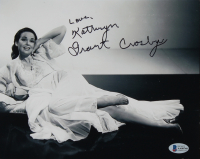 """Kathryn Grant Crosby Signed 8x10 Photo Inscribed """"Love"""" (Beckett COA) at PristineAuction.com"""