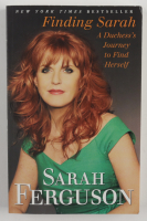 """Sarah Ferguson Signed """"Finding Sarah"""" Softcover Book Inscribed """"The Duchess of York"""" (Beckett COA) (See Description) at PristineAuction.com"""