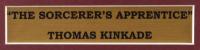 "Thomas Kinkade ""The Sorcerer's Apprentice"" 16x16 Custom Framed Print Display With Disney World Pin at PristineAuction.com"
