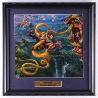 "Thomas Kinkade ""Tangled"" 16x16 Custom Framed Print Display at PristineAuction.com"