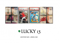LUCKY 13 MYSTERY BOX – SERIES ONE at PristineAuction.com