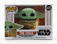 "The Child / Grogu with Bag - Star Wars ""The Mandalorian"" - #405 Funko Pop! Vinyl Bobble-Head Figure at PristineAuction.com"