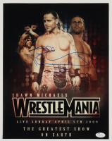 Shawn Michaels Signed WrestleMania 11x14 Photo (JSA COA) at PristineAuction.com