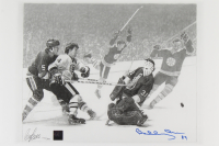 """Bobby Orr Signed Bruins """"The Flying Goal"""" 12x18 LE Lithograph #/300 (Orr COA) at PristineAuction.com"""