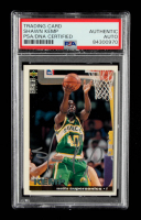 Shawn Kemp Signed 1995-96 Collector's Choice #40 (PSA Encapsulated) at PristineAuction.com