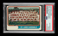 Red Schoendienst Signed 1974 Topps #36 St. Louis Cardinals TC (PSA Encapsulated) at PristineAuction.com