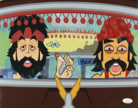 Tommy Chong & Cheech Marin Signed 11x14 Photo (JSA Hologram) at PristineAuction.com