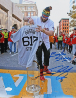"""Jonny Gomes Signed Red Sox 11x14 Photo Inscribed """"Boston Strong"""" (JSA COA) at PristineAuction.com"""