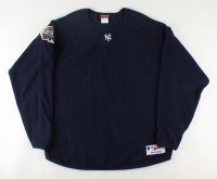Mariano Rivera Yankees 2003 World Series Game-Worn Fleece Sweater (Collectible Xchange LOA) at PristineAuction.com