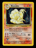 Ninetales 1999 Pokemon Base Unlimited #12 HOLO R at PristineAuction.com