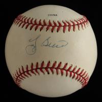 Yogi Berra Signed OL Baseball (Beckett COA) (See Description) at PristineAuction.com
