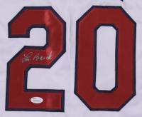 Lou Brock Signed Career Highlight Stat Jersey (JSA Hologram) at PristineAuction.com