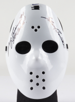 "Yvon Barrette Signed Full-Size Throwback Hockey Mask Inscribed ""Denis Lemieux"" & ""77 Champs"" (JSA COA) at PristineAuction.com"