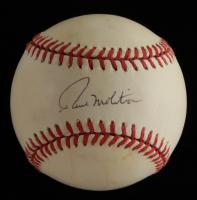 Paul Molitor Signed OAL Baseball (Beckett COA) (See Description) at PristineAuction.com