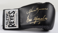 Erik Morales & Marco Antonio Barrera Signed Cleto Reyes Boxing Glove with Display Case (Beckett COA) at PristineAuction.com