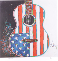 """KAT Signed """"American Acoustic"""" Limited Edition 20x20 Lithograph at PristineAuction.com"""