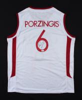 Kristaps Porzingis Signed Jersey (JSA COA) (See Description) at PristineAuction.com