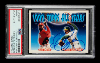 Dennis Eckersley Signed 1993 Topps #411 Lee Smith / Dennis Eckersley AS (PSA Encapsulated) at PristineAuction.com