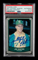 """Jim """"Catfish"""" Hunter Signed 1989 Pacific Legends II #193 (PSA Encapsulated) at PristineAuction.com"""