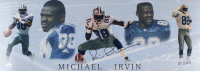 Michael Irvin Signed LE Cowboys 10x28 Panoramic Photo (JSA COA) at PristineAuction.com
