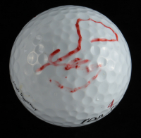 Fuzzy Zoeller Signed Golf Ball (Beckett COA) at PristineAuction.com