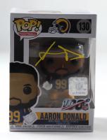 Aaron Donald Signed Rams #130 Funko Pop! Vinyl Figure (JSA COA) (See Description) at PristineAuction.com