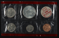 1968 U.S. Mint Uncirculated Coin Set with (5) Coins at PristineAuction.com