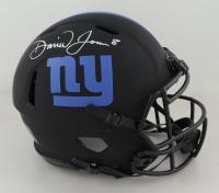 Daniel Jones Signed Giants Full-Size Authentic On-Field Eclipse Alternate Speed Helmet (JSA COA) (See Description) at PristineAuction.com